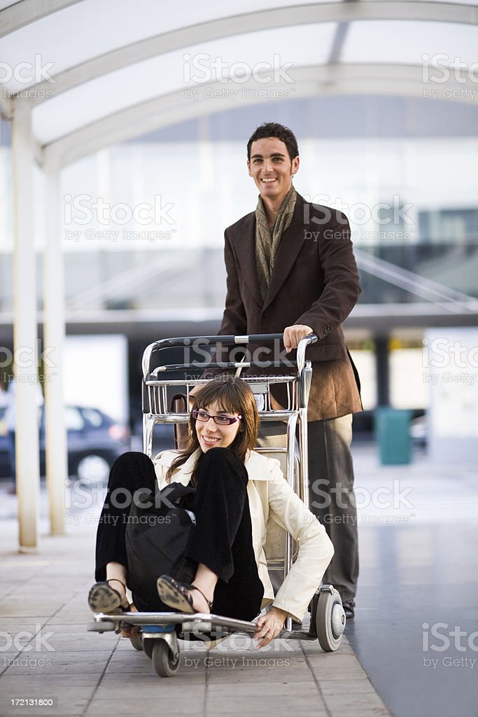 airport car royalty-free stock photo