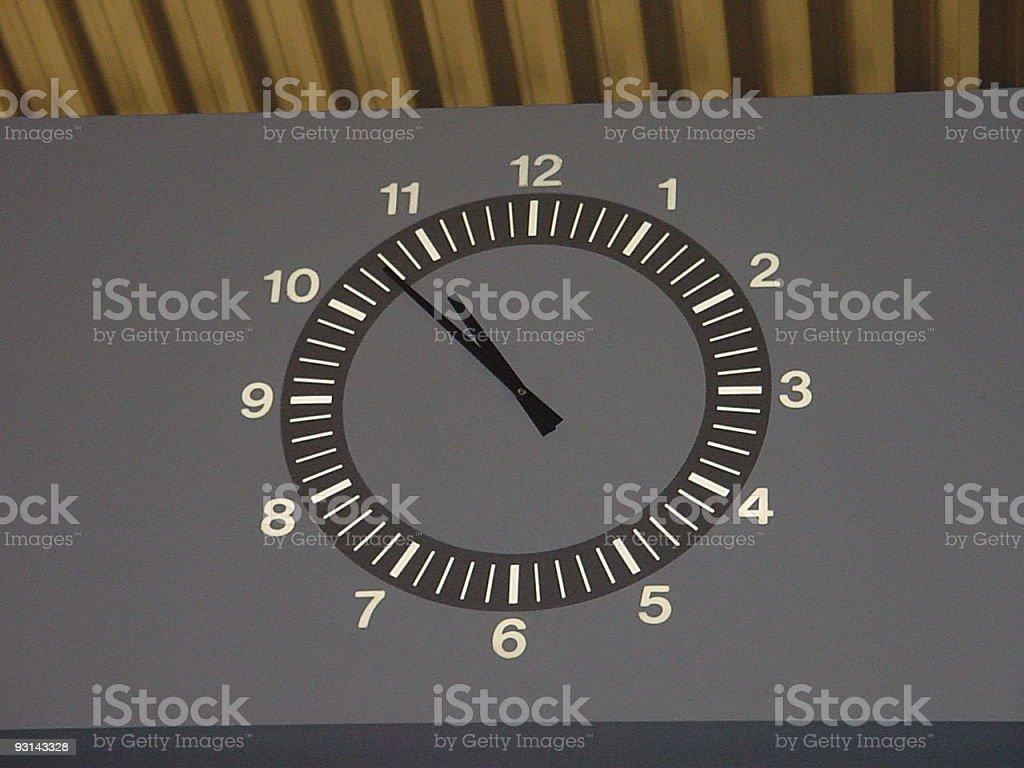 airport clock royalty-free stock photo