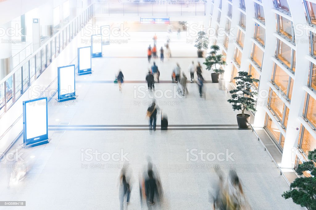 Airport concepts- Way home stock photo
