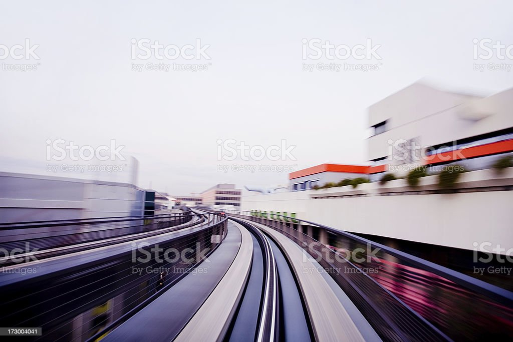 Airport Connection royalty-free stock photo