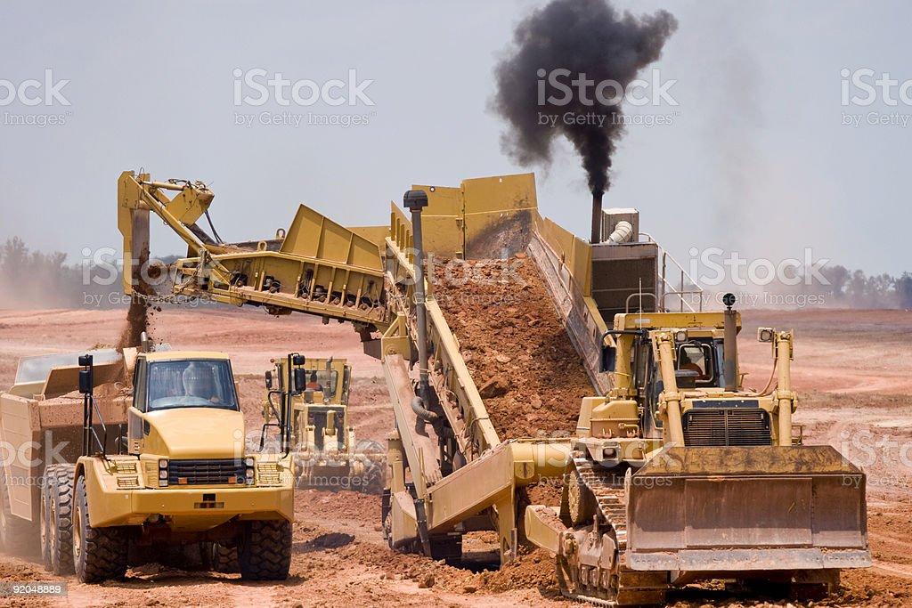 Airport Construction II stock photo
