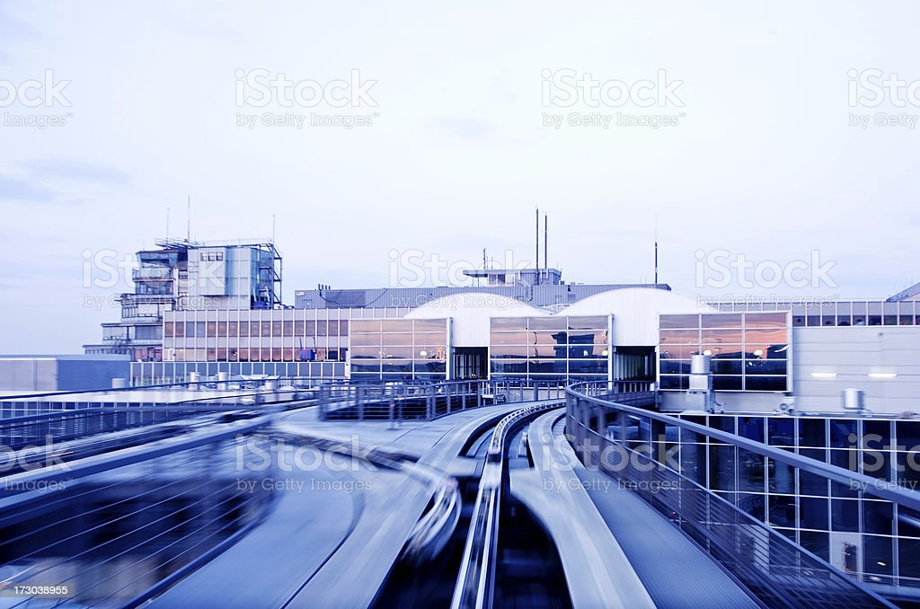 Airport Gate royalty-free stock photo