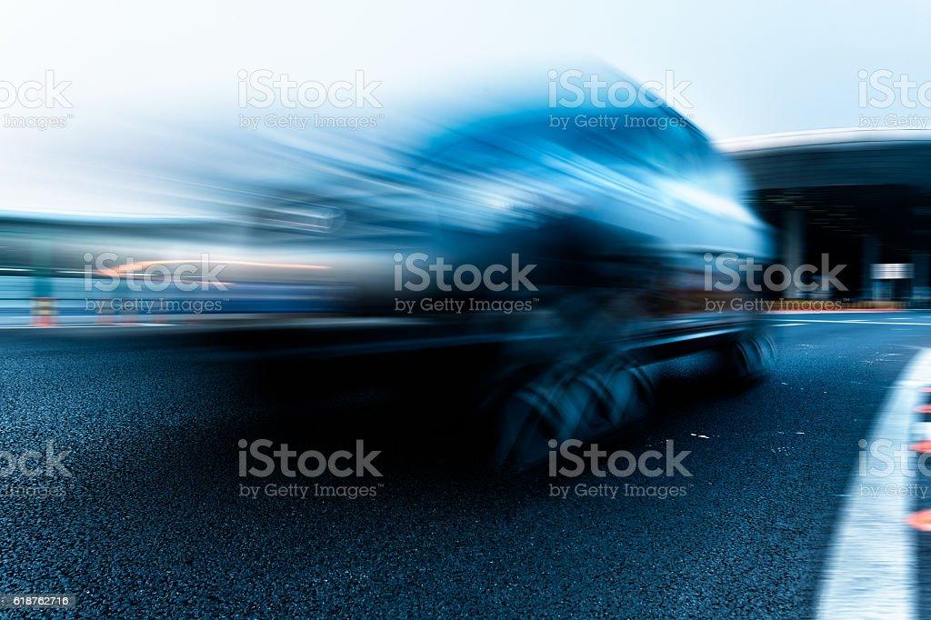 airport highway stock photo