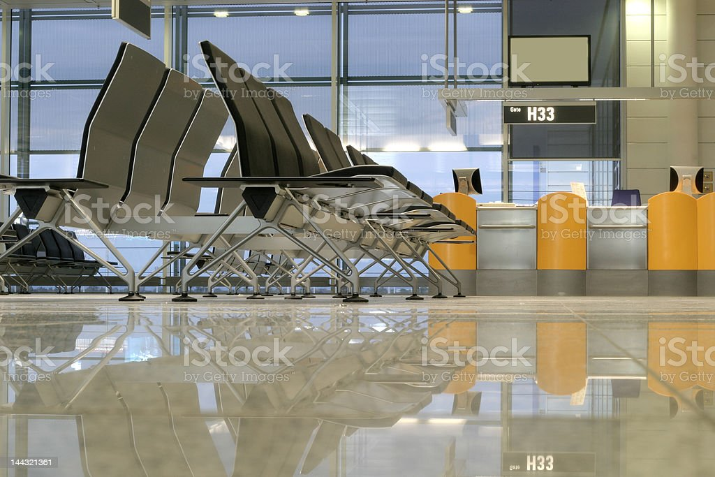 airport in Munich royalty-free stock photo