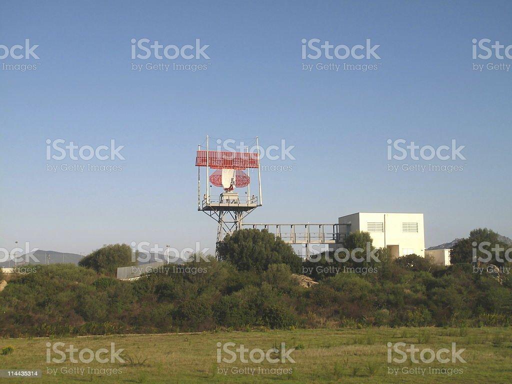 Airport in Olbia, Costa Smeralda stock photo