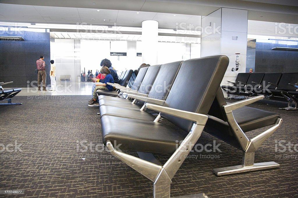Airport Lobby royalty-free stock photo