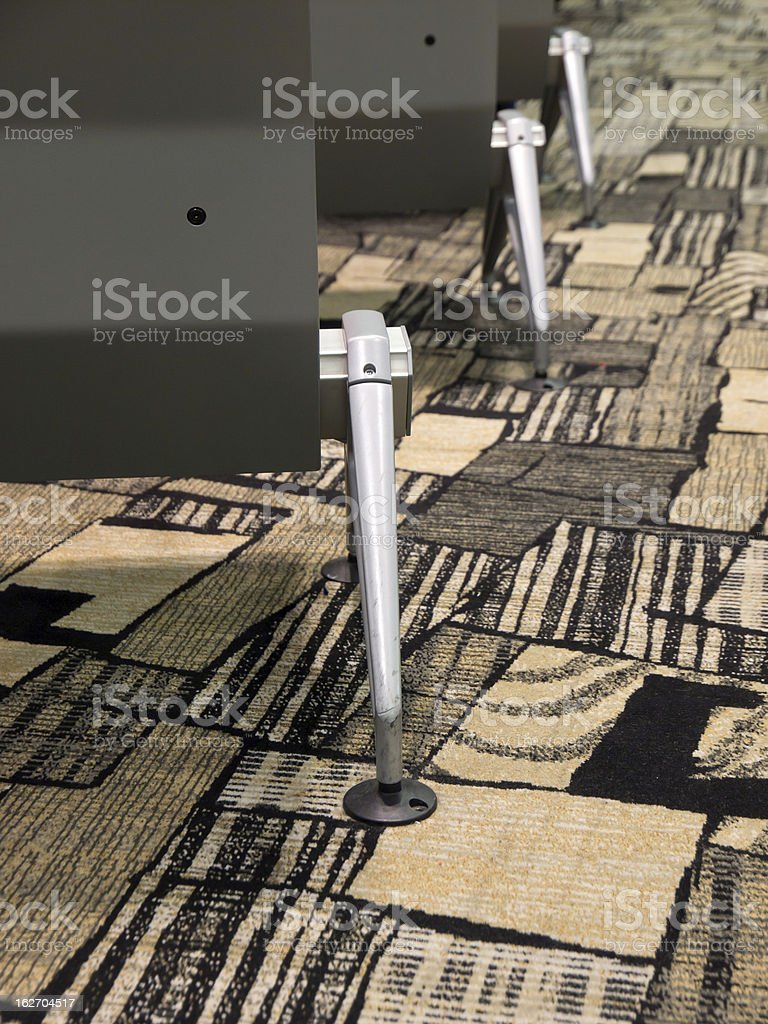 Airport lounge interior royalty-free stock photo