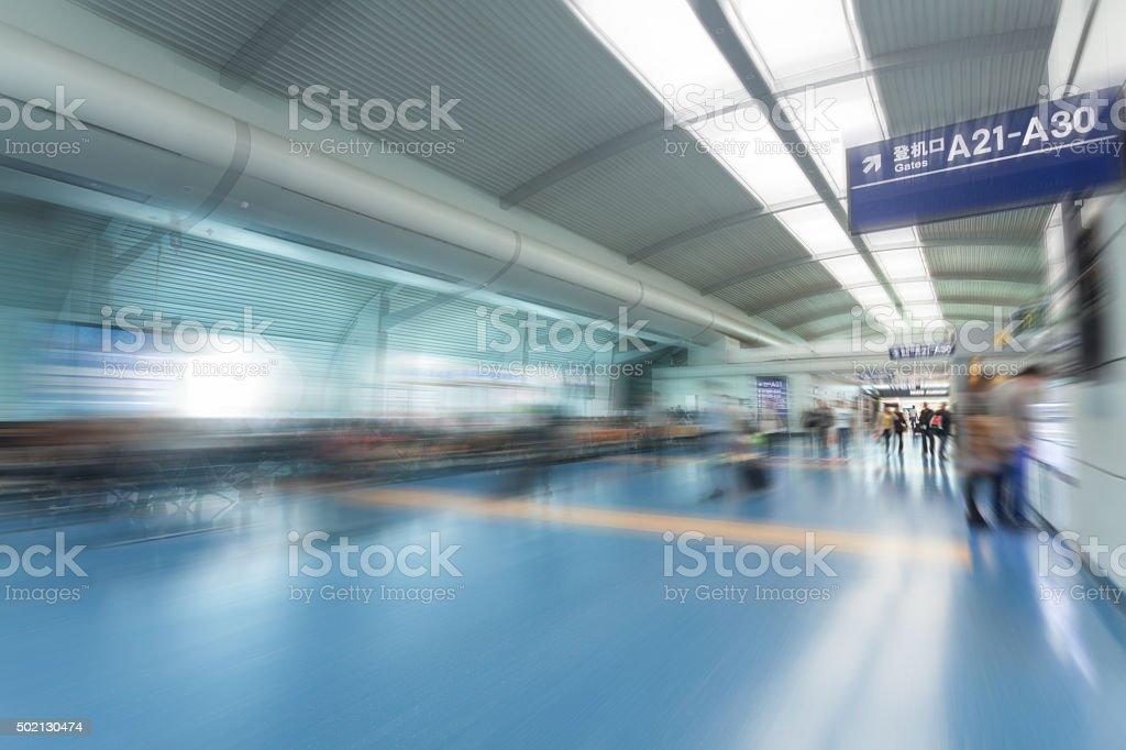 Airport  Lounge stock photo