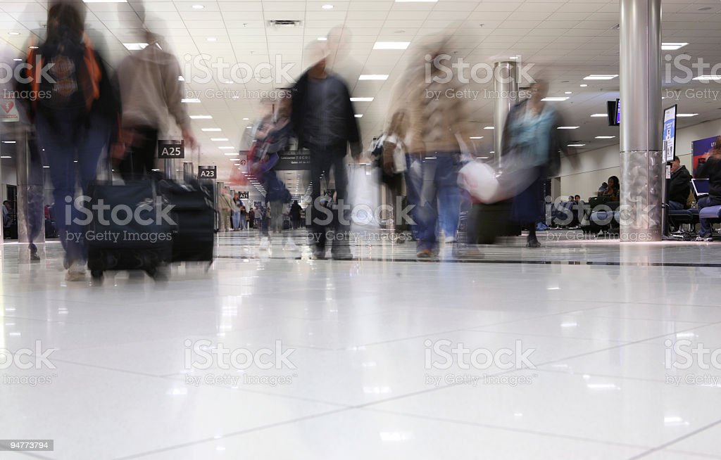 airport people royalty-free stock photo