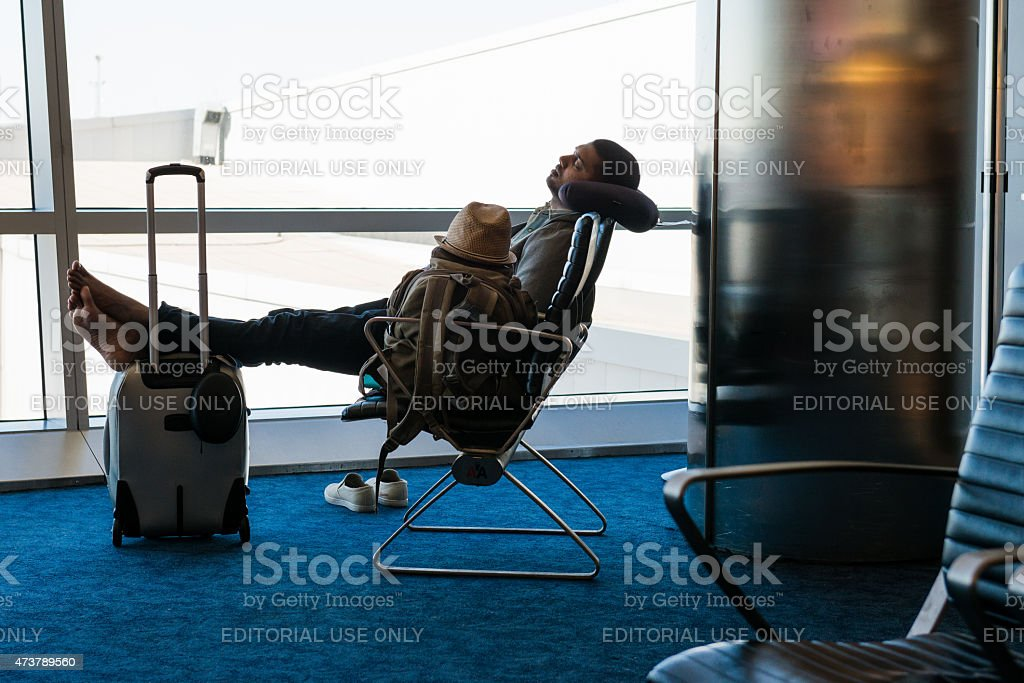 JFK Airport stock photo