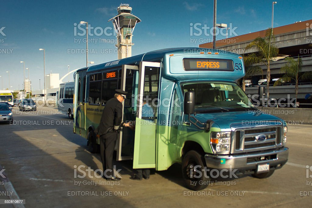 LA Airport stock photo