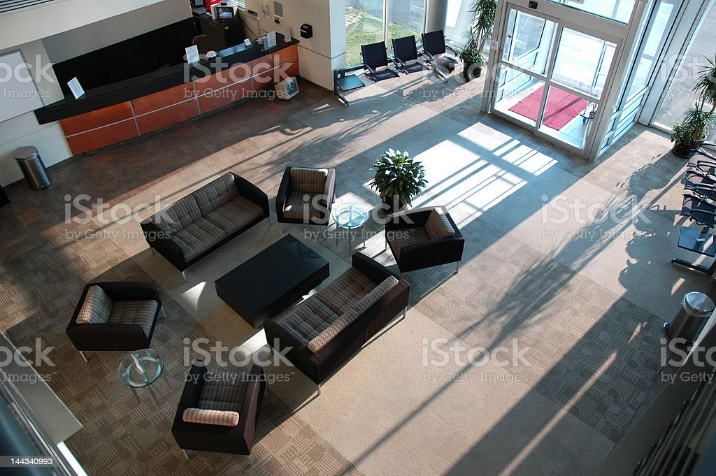 Airport Pilot's Lounge royalty-free stock photo