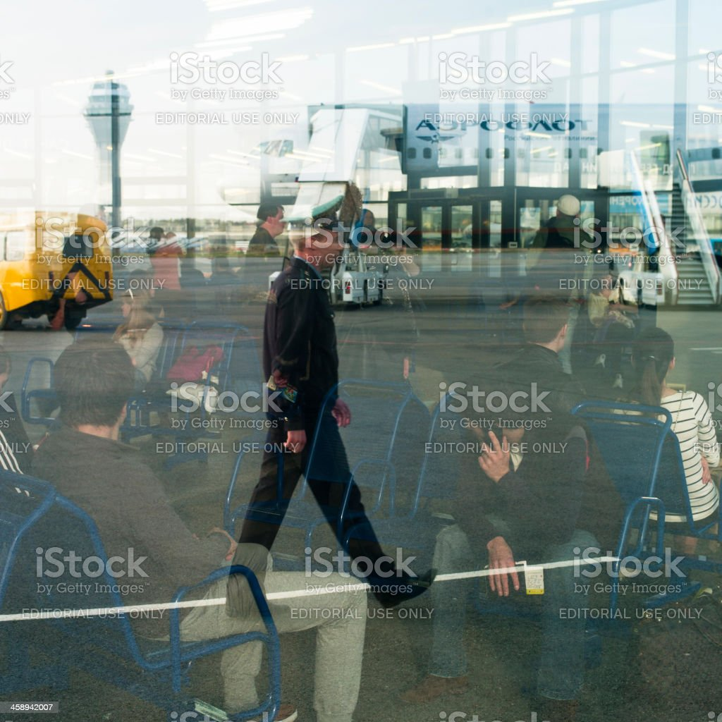 Airport Pulkovo II royalty-free stock photo