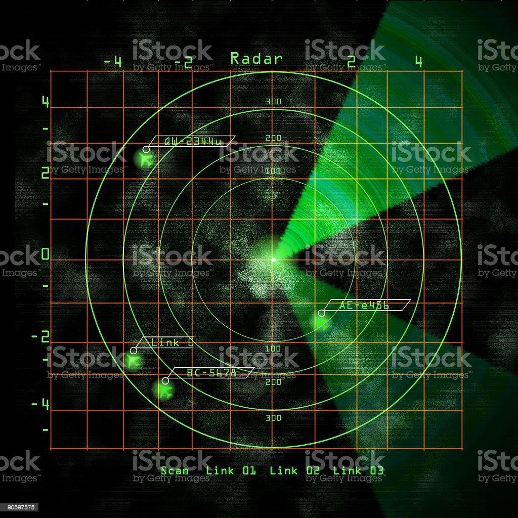 Airport Radar stock photo
