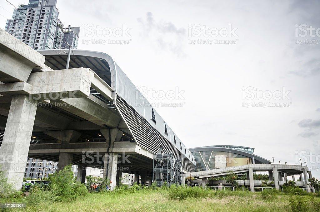 Airport Rail Link In Bangkok, Thailand stock photo