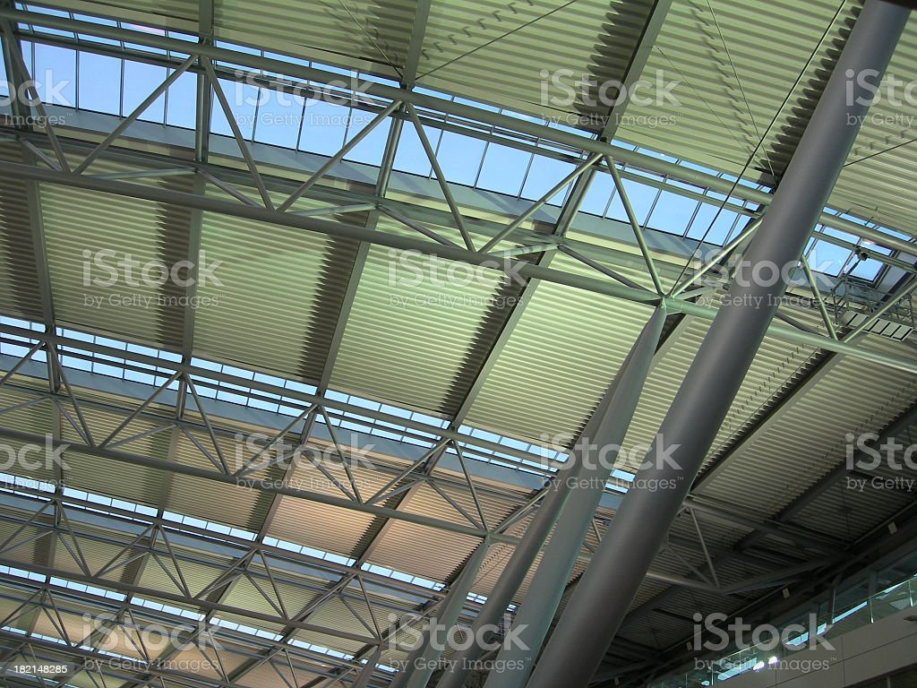 Airport Roof 01 stock photo