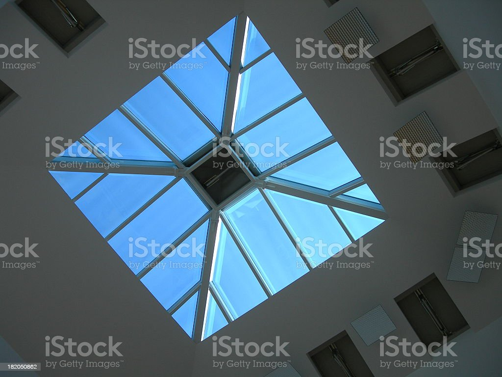 Airport Roof 03 stock photo