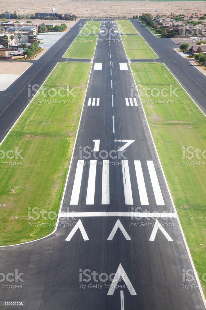 Airport Runway stock photo