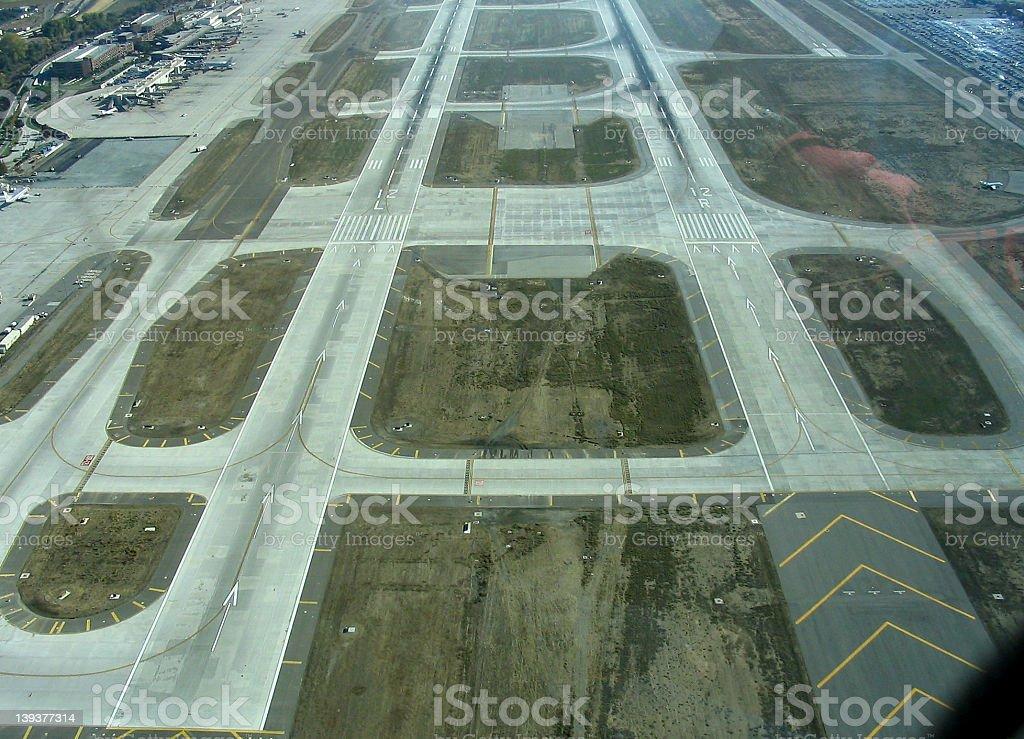 airport runways royalty-free stock photo