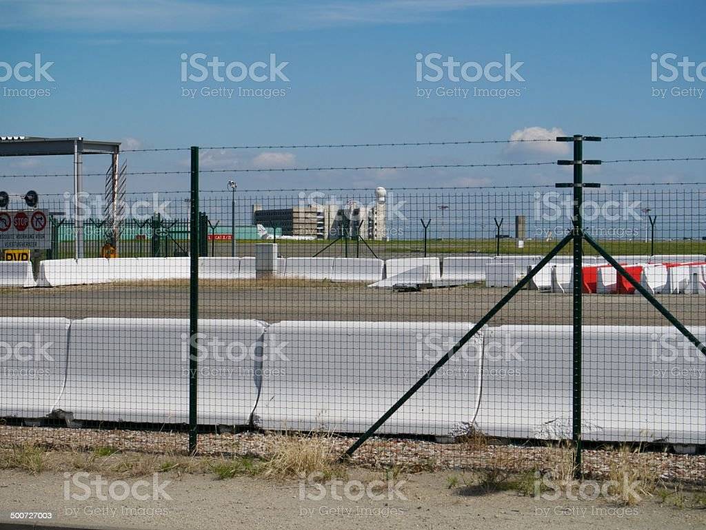 airport scene royalty-free stock photo