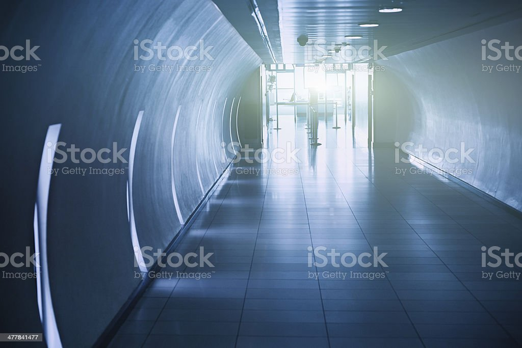 Airport security check royalty-free stock photo