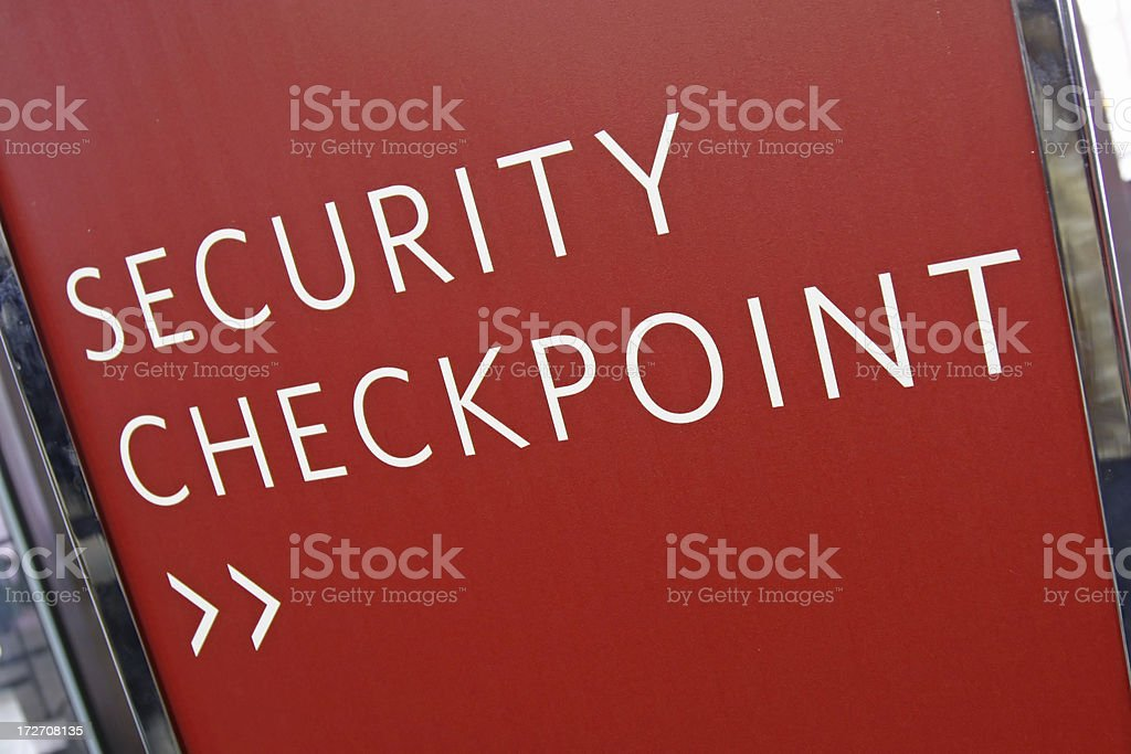 Airport security # 18 stock photo