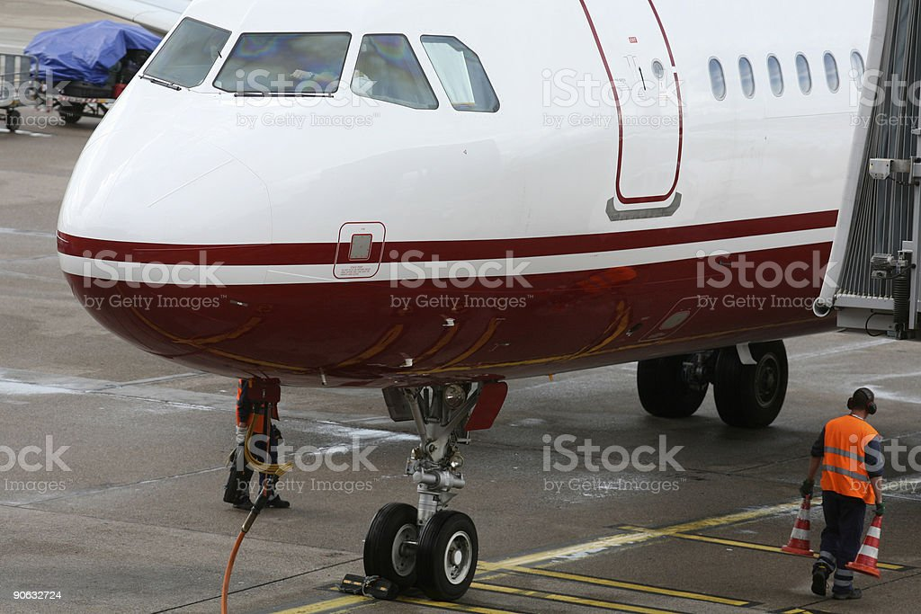 airport, service royalty-free stock photo