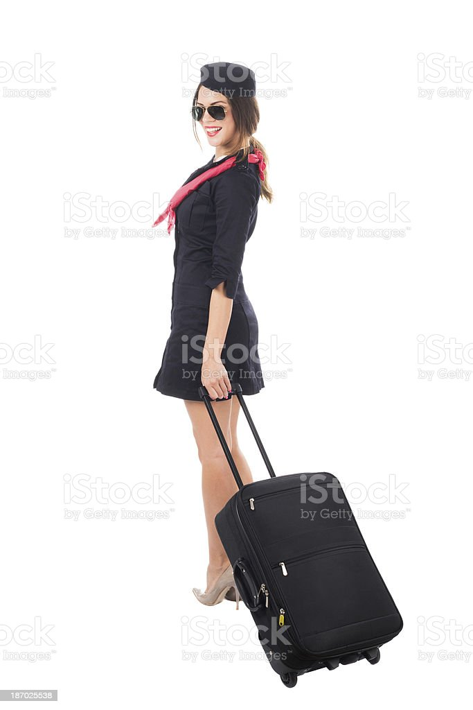 Airport staff royalty-free stock photo