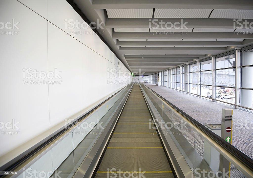 Airport terminal 4 stock photo