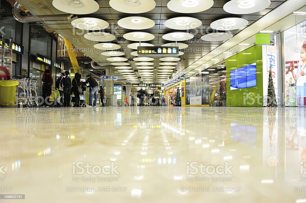 Airport terminal building. royalty-free stock photo