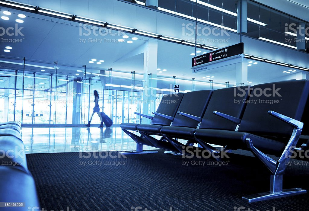 Airport Terminal Gate royalty-free stock photo