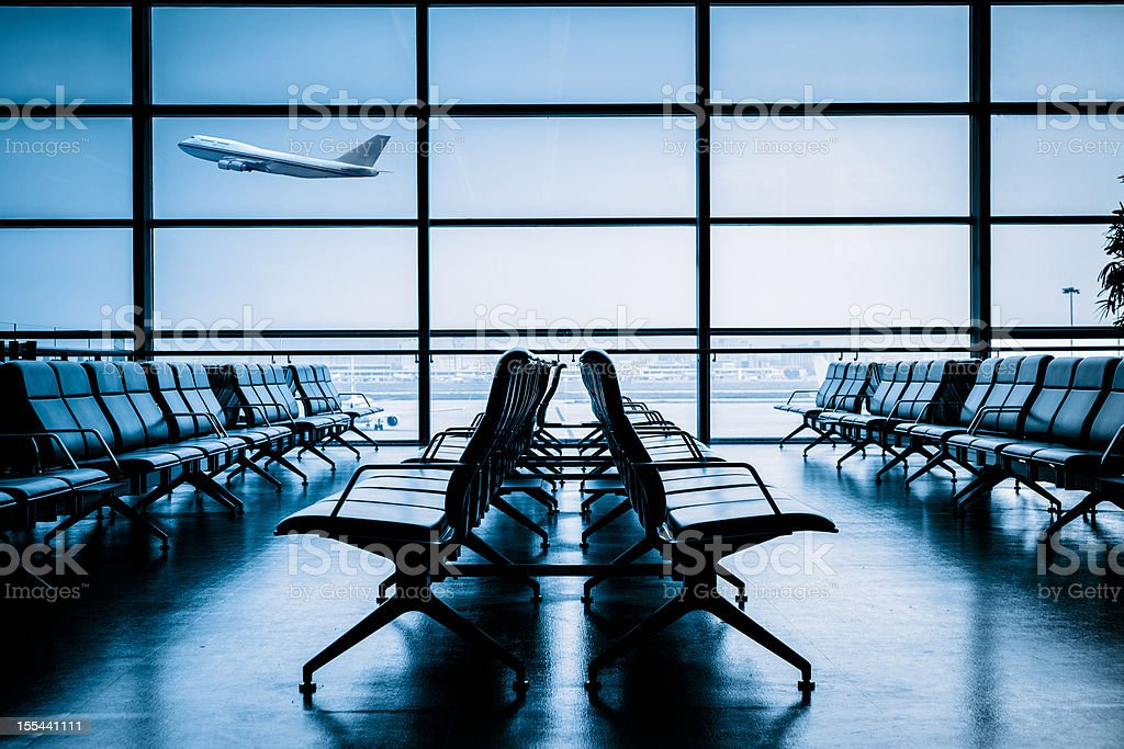 Airport Terminal stock photo