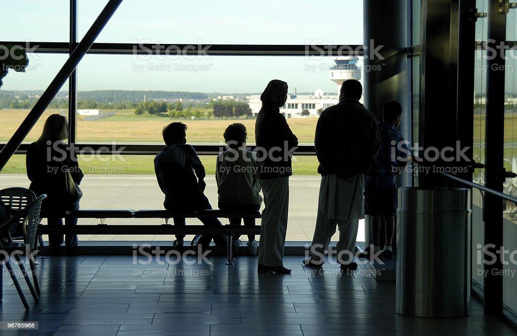 Airport Terminal royalty-free stock photo