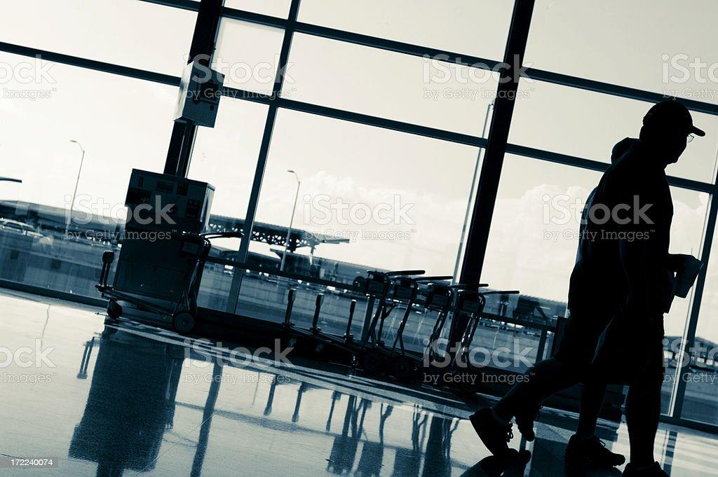 airport traffic stock photo