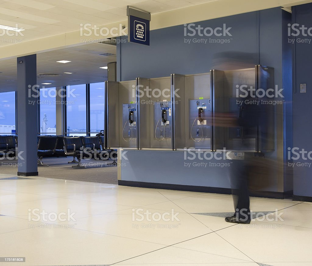 Airport traveling royalty-free stock photo