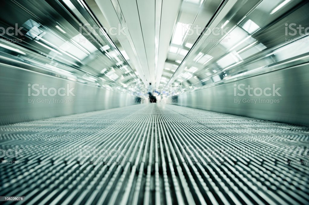 Airport Traveller royalty-free stock photo