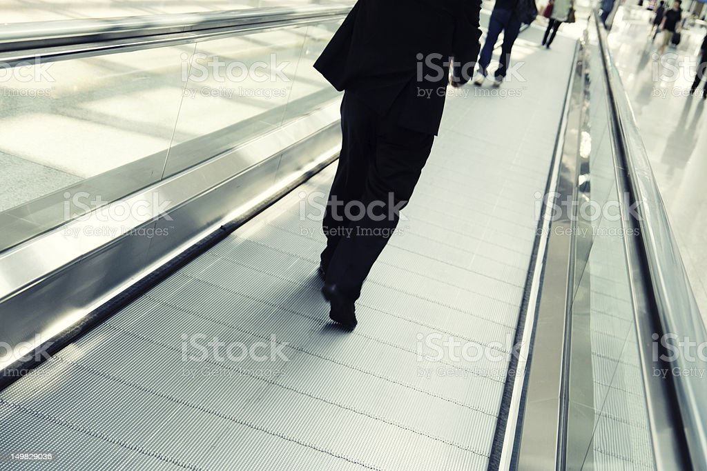 Flughafen verbunden Lizenzfreies stock-foto