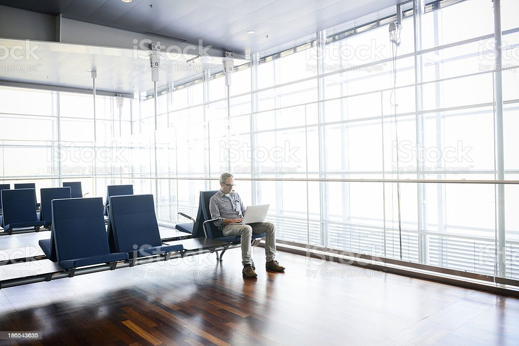 Airport Wifi stock photo