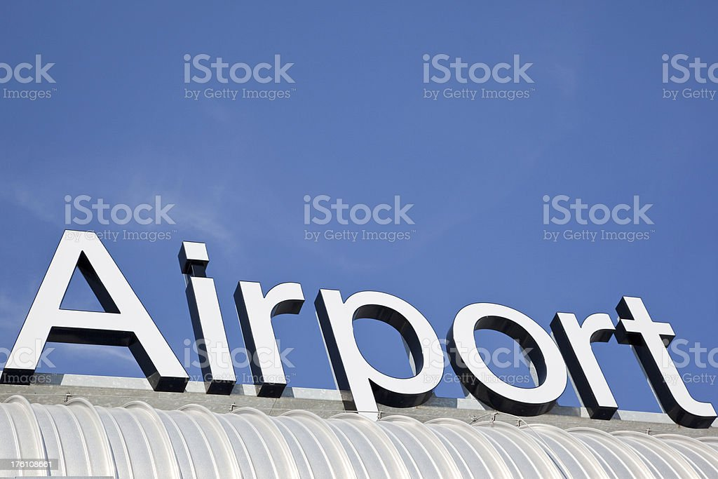Airport # 34 XXL stock photo