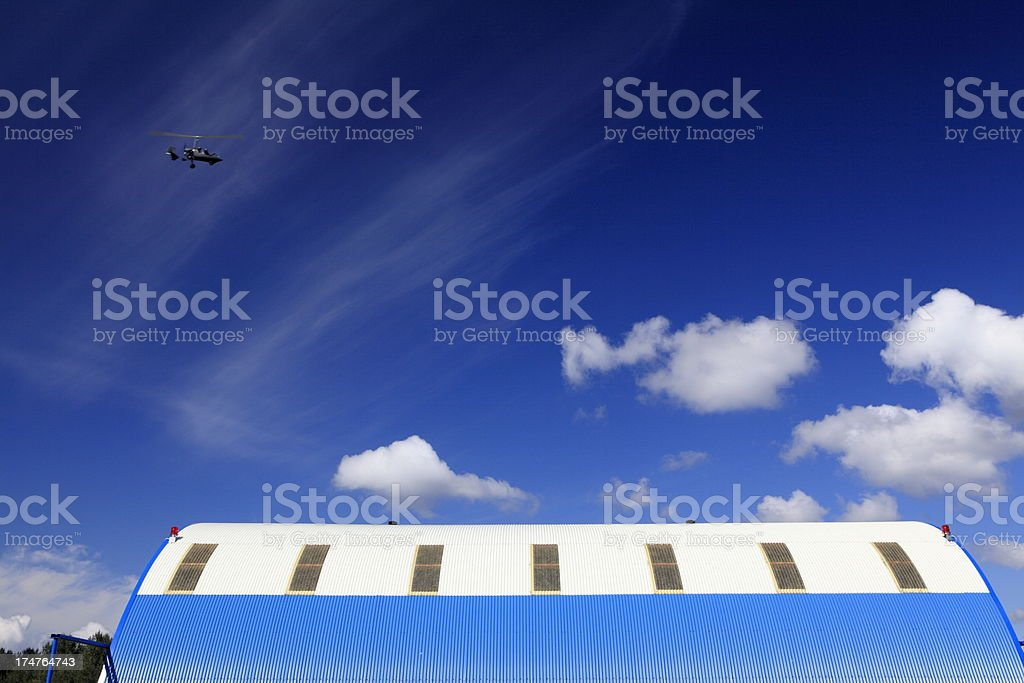 Airshed royalty-free stock photo