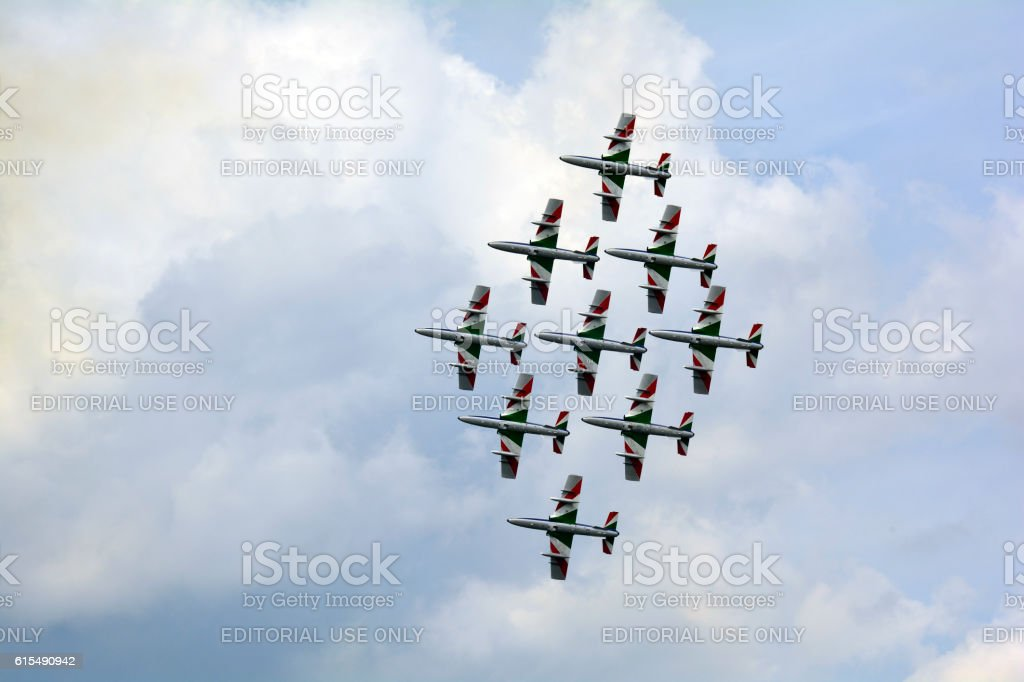 Airshow - Airpower 2016 stock photo