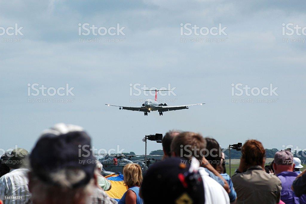 airshow stock photo