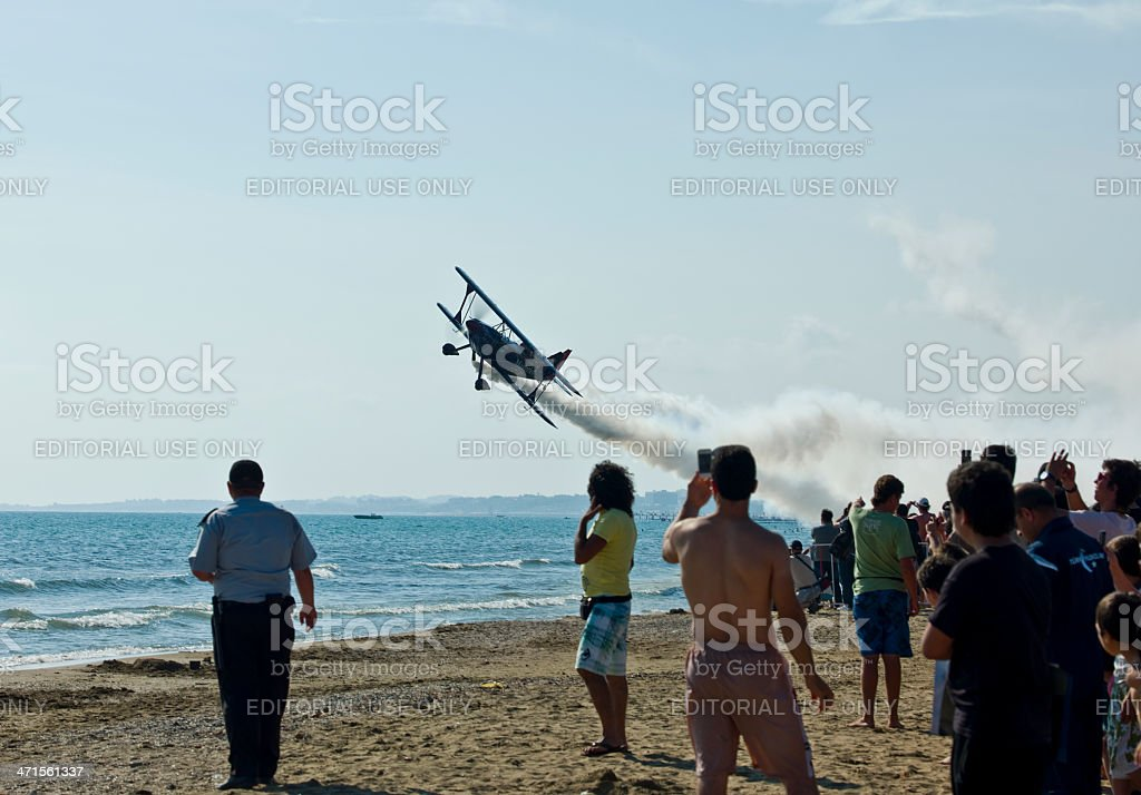 Airshow royalty-free stock photo