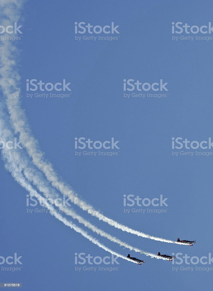 Airshow: Prop Passage royalty-free stock photo