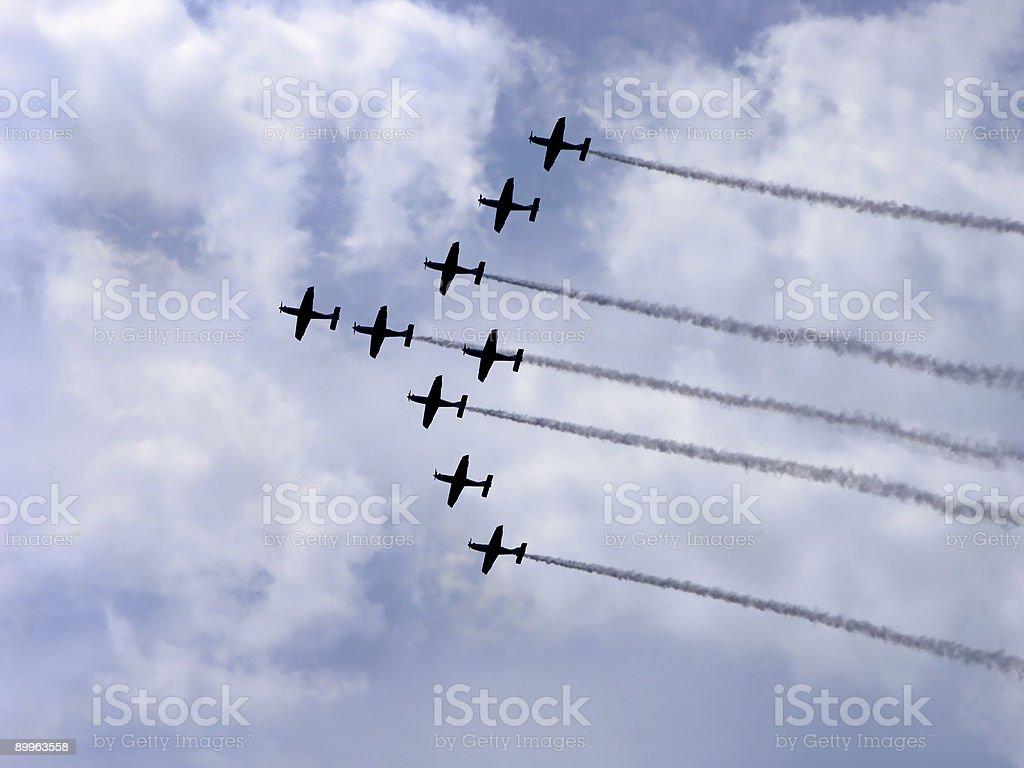 Airshow5 royalty-free stock photo