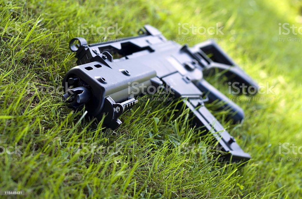 Airsoft gun. stock photo