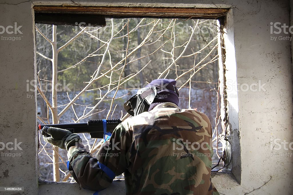 Airsoft1 royalty-free stock photo