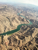 Airview of Colorado River - Arizona - USA
