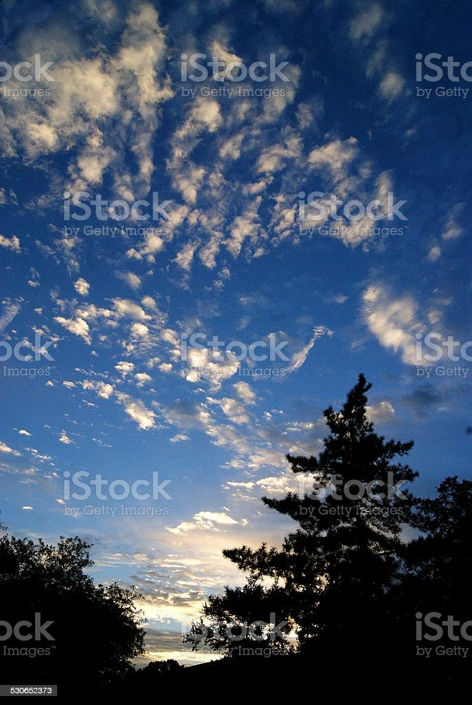 Airy Sunset royalty-free stock photo
