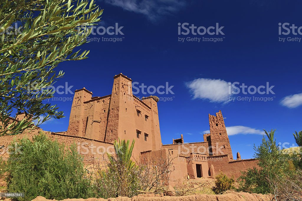 Ait ben Haddou in Morocco royalty-free stock photo
